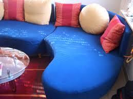 Couch Big Sofa Ottomane Wohnlandschaft Hocke In 68623