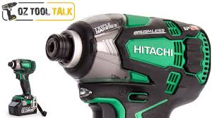 hitachi impact driver set. hitachi triple hammer impact driver - 18v, ip56, brushless wh18dbdl2 set )