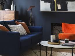 furniture trend. Swoon LivingRoom Dark Colour Paint Interior Design Trend 2018 Furniture