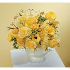 bowl of yellow in tulsa ok westside flowers gifts