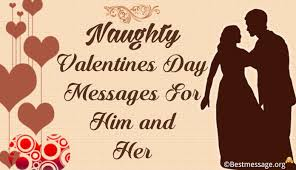 short valentines day messages him and her
