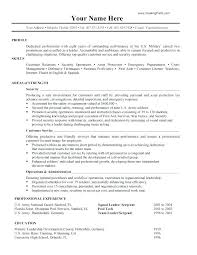 Military Resume Examples For Civilian Adorable Military Experience On Resume Resume Examples For Military Military