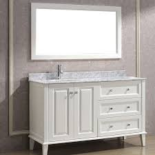 modern white bathroom cabinets. art bathe lily 55 inch contemporary bathroom vanity white finish modern cabinets