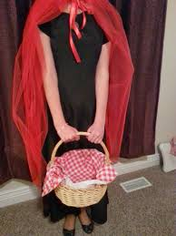 diy fairy tale costume little red riding hood
