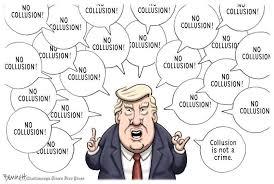Image result for trump no collusion cartoon