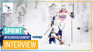 Linn Svahn I M So Glad To Start With A Victory Women S Sprint Ruka Fis Cross Country Youtube