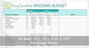 Wedding Budget Template 728x1365 Savvy Spreadsheets