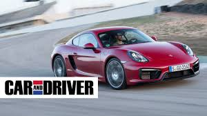 2016 Porsche Cayman GTS Review in 60 Seconds | Car and Driver ...