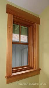 Shaker Window Trim 25 Best Craftsman Window Trim Ideas On Pinterest Window Casing