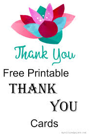Free Printable Thank You Postcards Free Printable Thank You Cards Cultured Palate