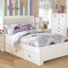Bedroom: Outstanding White Bedroom Sets With Storage Applied To Your ...