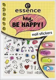 Наклейки для ногтей <b>Essence</b> Hey, be <b>happy</b>! nail stickers, №05, 5 ...