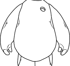 Baymax Coloring Page Free Big Hero 6 Coloring Pages Amazing Coloring