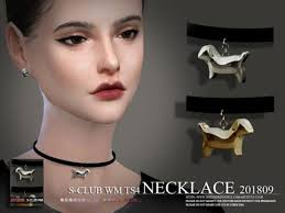 Lana CC Finds | Choker necklace, Sims 4, Sims