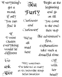 Quotes From Alice In Wonderland Gorgeous Alice In Wonderland Quotes Whimsy Font Technique Junkies