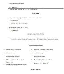 Kroger Resume Examples 9 Entry Level Resume Templates Pdf Doc Free Premium Templates