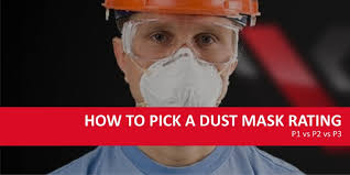 How To Pick A Dust Mask Rating : P1 Vs P2 Vs P3