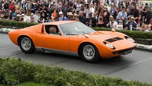 1969 Lamborghini Miura S Bertone Coupe – Robb Report