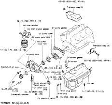 repair guides engine mechanical components oil pump autozone com exploded view of the oil pump and pan 3 0l engine