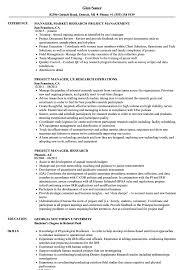 Travel Researcher Sample Resume Project Manager Research Resume Samples Velvet Jobs 20