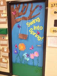 spring door decorations classroom | spring door. rhyming. kindergarten.  MPLMZOD