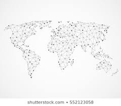 114 908 World Map Black And World Map Black And White Images