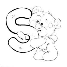 Letter F Printable Coloring Pages Letter Coloring Pages For Toddlers