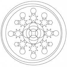 Mandala Per Bambini Facili Da Colorare
