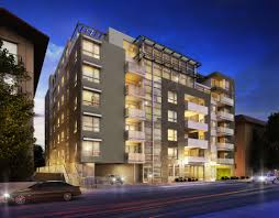 Modern Apartment Building Design Fanciful Contemporary Apartment