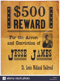 Outlaw Wanted Poster Stock Photos Outlaw Wanted Poster Stock