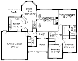 Plain Simple Floor Plans With Measurements On Floor With House Plans  Pricing Plan