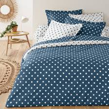 clarisse polka dot cotton duvet cover