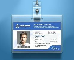company id card templates id card design template company identity creative free download