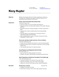 ... Awesome Collection Of Audio Visual Technician Cover Letter About Audio  Engineer Resume ...