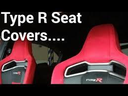 honda civic type r fk2 seat covers