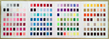 Plain Grosgrain Colour Chart