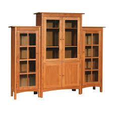 office bookcase with doors. Modern Shaker Wall Unit Bookcase Office With Doors
