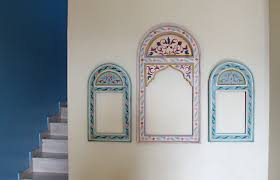 painted wood picture frames. Frames Moroccan Painted Wood Picture