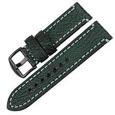 MAIKES Watch Band, Genuine Leather Watch Strap ... - Amazon.com