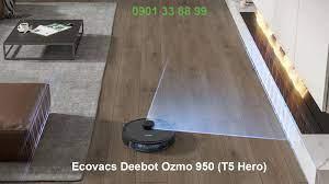 Home Robotics - Robothutbui.com - Ecovacs Deebot Ozmo 950 (T5 Hero) - Đẳng  cấp robot hút bụi lau nhà thông minh