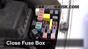 blown fuse check 1996 2000 hyundai elantra 1999 hyundai elantra How To Open Haundai Fuse Box 6 replace cover secure the cover and test component