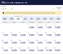 Southwest Rapid Rewards Points Chart The Southwest Award Chart A Two Edged Sword Of Simplicity