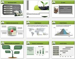 Business Plan In Powerpoint Powerpoint Business Plan Growth Template