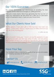 Customer Service Leaflet 2018