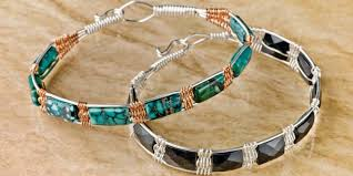 learn how to make wire jewelry designs for making wire jewelry with 6 wire jewelry