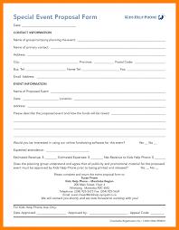 Event Proposal Template 24 Event Proposal Template Word Business Opportunity Program 19