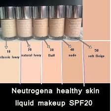 Neutrogena Healthy Skin Liquid Makeup Shades Saubhaya Makeup