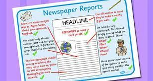 You'll find a vast amount of newspaper report templates, powerpoints and worksheets that your ks2 children can use during lessons. How To Write A Newspaper Report Ks2 Report Writing Newspaper Report Report Writing Template
