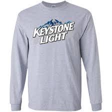 Keystone Light Sweatshirt Keystone Light Beer Ls T Shirt Day T Shirt Pinterest