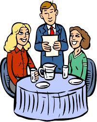 restaurant table clipart.  Table On Restaurant Table Clipart A